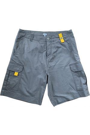 Loewe Men Shorts - Khaki Cotton Shorts