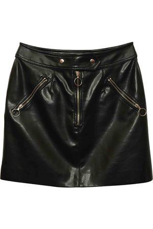 Moschino Leather mini skirt