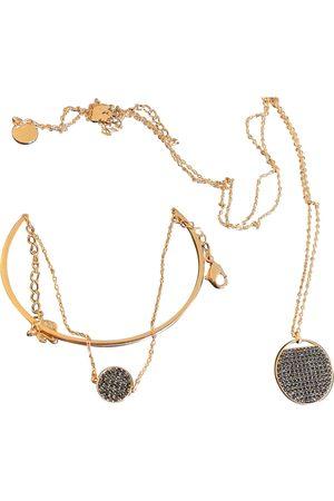 Swarovski Gold and steel Jewellery Sets