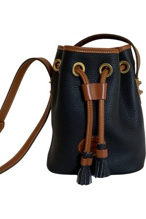 Dooney And Bourke Women Purses - Navy Leather Handbags