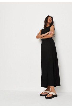 Missguided Rib Sleeveless Maxi Dress