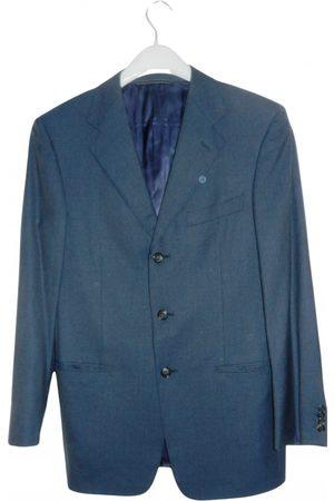 Ermenegildo Zegna Grey Wool Jackets