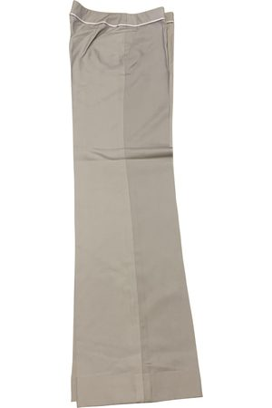 Paule Ka Silk straight pants