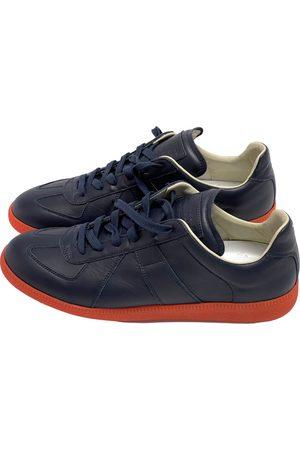 Maison Martin Margiela Replica leather low trainers