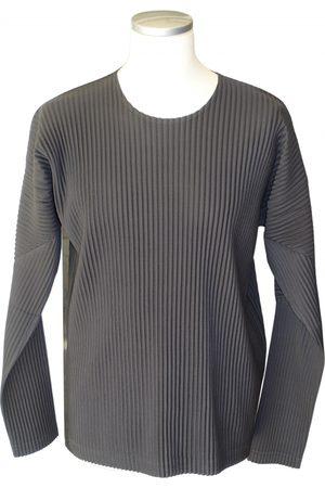 Issey Miyake Khaki Polyester Knitwear & Sweatshirts