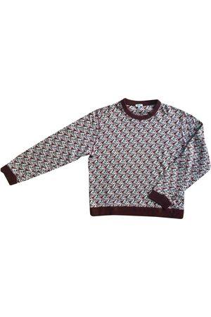Kenzo Burgundy Cotton Knitwear & Sweatshirts