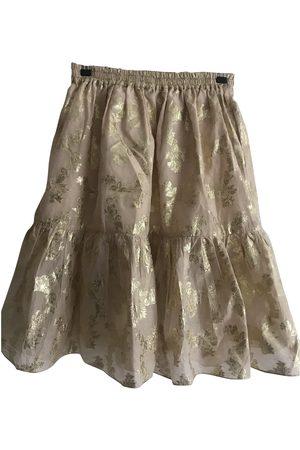 SUNO Metallic Cotton Skirts