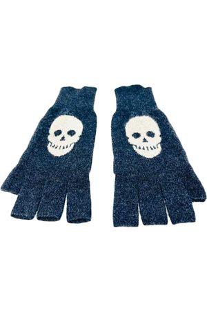 AUTUMN CASHMERE Grey Cashmere Gloves