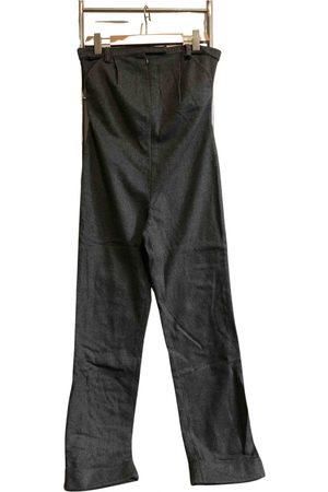 FRANKIE MORELLO Women Jumpsuits - Grey Wool Jumpsuits