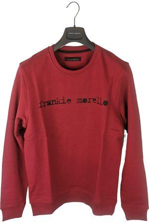 FRANKIE MORELLO Burgundy Cotton Knitwear & Sweatshirts
