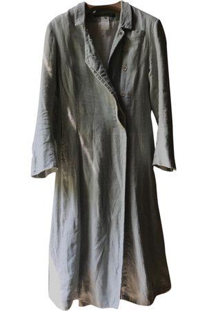 PAUL HARNDEN SHOEMAKERS Navy Linen Coats