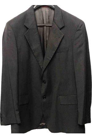 Emanuel Ungaro Grey Wool Jackets