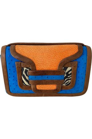 Pierre Hardy Multicolour Leather Clutch Bags