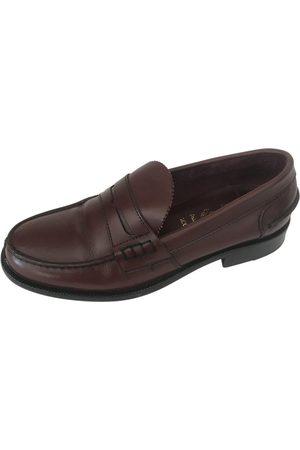 AUTRE MARQUE Leather Flats