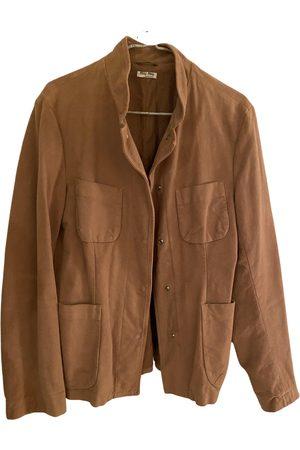 Miu Miu Cotton Leather Jackets
