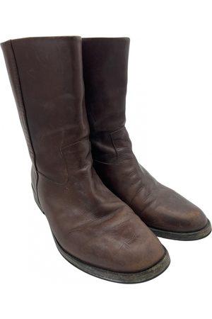Maison Martin Margiela Leather Boots