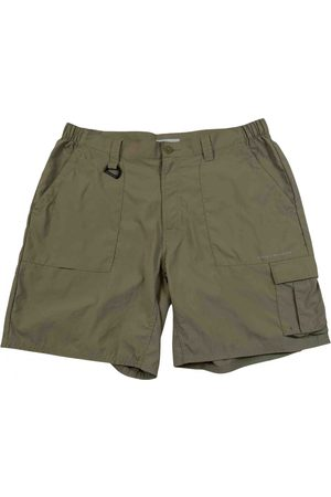 Columbia Khaki Polyester Shorts