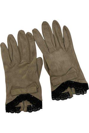 VALENTINO GARAVANI Suede Gloves