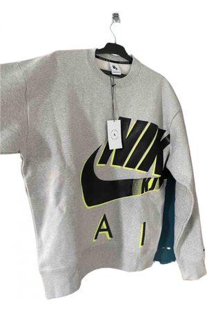 Nike Grey Polyester Knitwear & Sweatshirt
