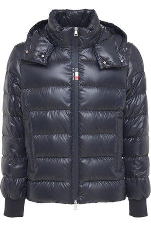 Moncler Cuvellier Nylon Laquè Down Jacket