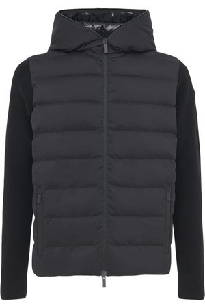 Moncler Tricot Wool & Down Jacket