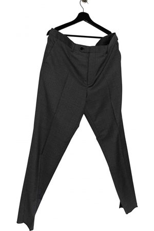 Mr P. Grey Wool Trousers