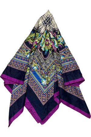 Courrèges Multicolour Silk Scarves
