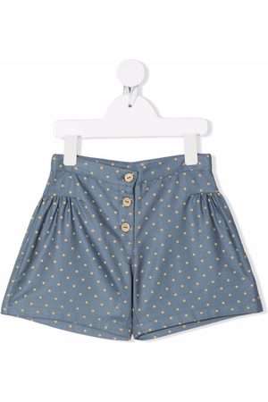KNOT Girls Shorts - Polka-dot print shorts