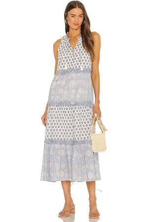 Cleobella Maddelyn Maxi Dress in Blue.
