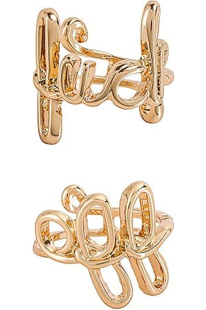 8 Other Reasons Mean It Ring Set in Metallic .