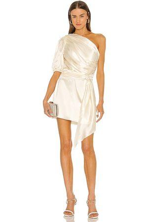 Amanda Uprichard Bexley Dress in Ivory.