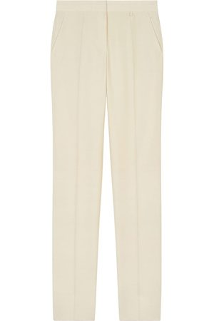 Givenchy High-rise straight-leg trousers - Neutrals