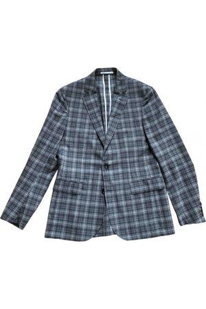 Hardy Amies Grey Wool Suits