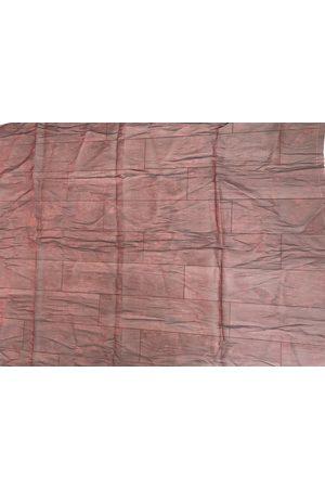 Alexander McQueen Women Scarves - Burgundy Silk Scarves