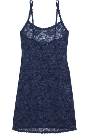 Cosabella Woman Never Say Never Foxie Stretch-lace Chemise Navy Size L