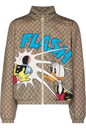 Gucci X Disney GG Supreme jacket - Neutrals