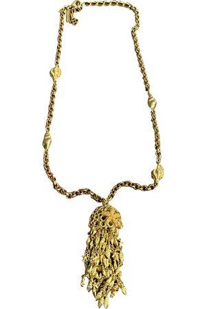Oscar de la Renta Metal Long Necklaces