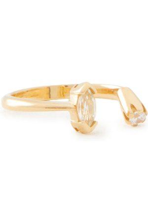 CORNELIA WEBB Woman 24-karat -plated Topaz And Siamite Ring Size