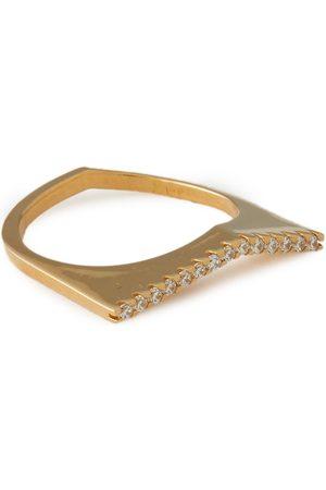 CORNELIA WEBB Woman 24-karat -plated Siamite Ring Size 16