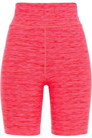 The Upside Woman Saanvi Dance Mélange Stretch Shorts Fuchsia Size L