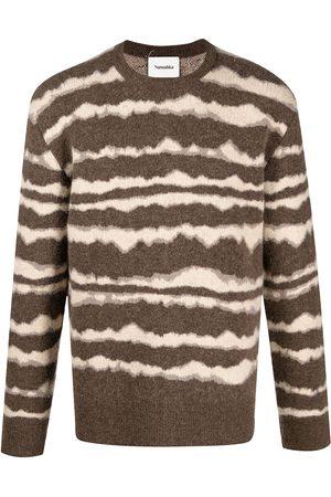Nanushka Abstract stripe jumper
