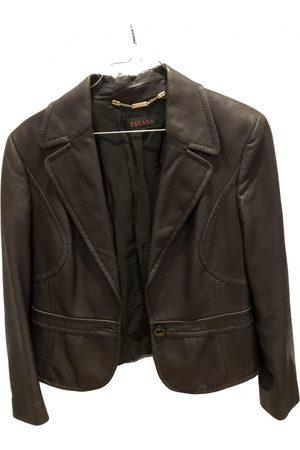 Escada Leather Leather Jackets
