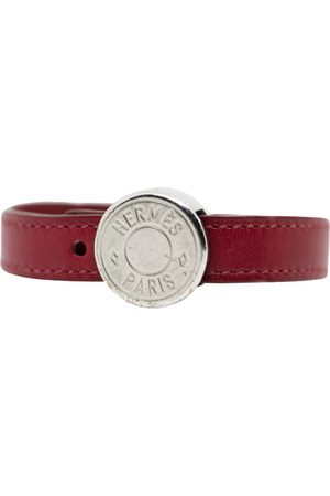 Hermès Clou de Selle leather bracelet