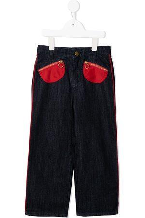 Marni Girls Straight - Pocket-detail straight-leg jeans