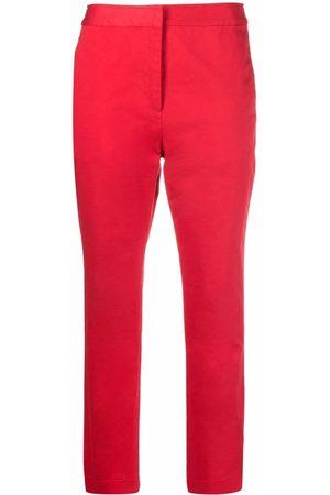 Malo Women Skinny Pants - Cropped slim-leg trousers