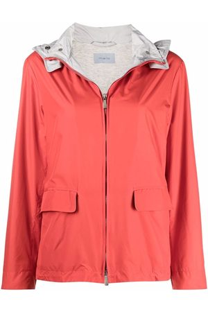 Malo Twill-lined hooded raincoat