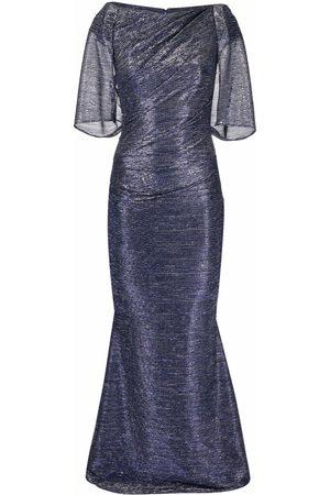 Talbot Runhof Flared maxi dress