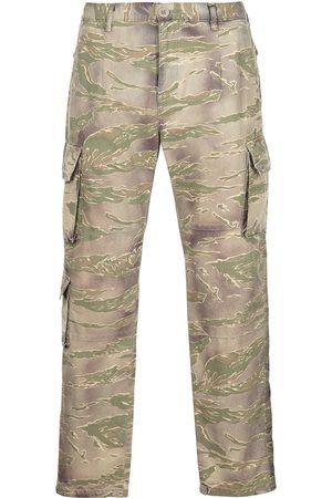 John Elliott Camouflage print cargo trousers