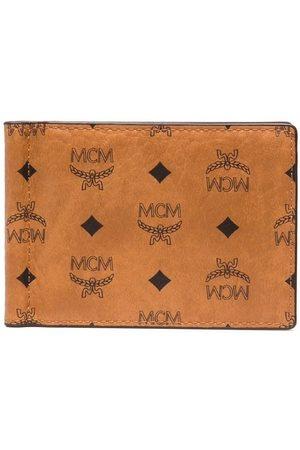 MCM Monogram money clip wallet