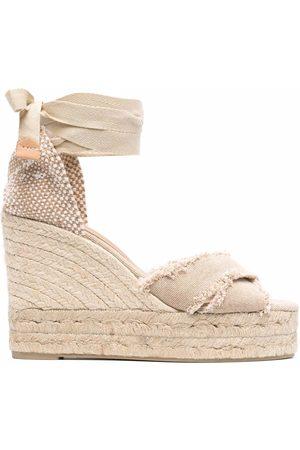 Castaner Bluma espadrille wedge sandals - Neutrals